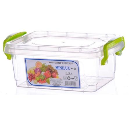 Контейнер пищевой Minilux №1 (0.3 л)