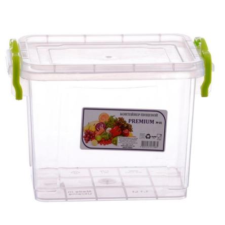 Контейнер пищевой высокий Premium №1 (1,1 л)