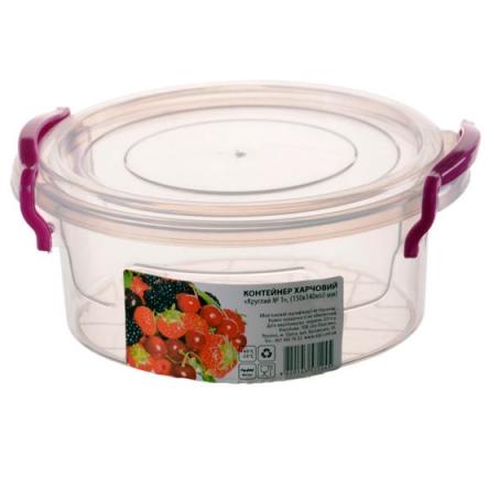 Контейнер пищевой круглый (2.1 л)