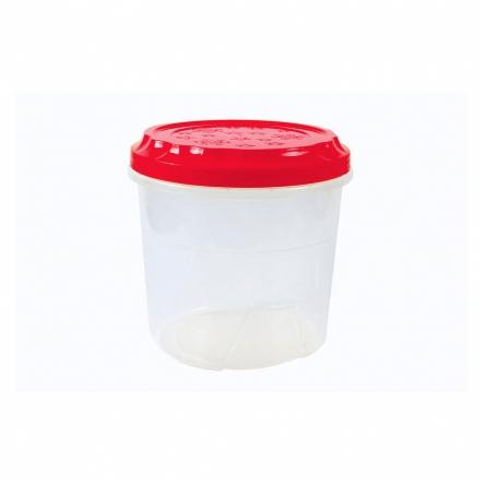 Банки пластиковые с завинчивающейся крышкой 1 литр