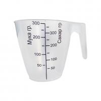 Пластиковый стакан мерный 400мл